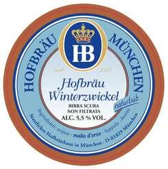 Hofbrau Winter Zwickel