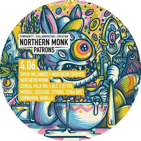 Northern Monk Cereal Box IPA 2019
