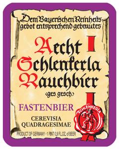 Schlenkerla Fastenbier Beer
