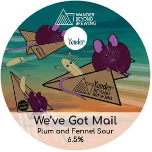 We've Got Mail - Yonder Brewing collab