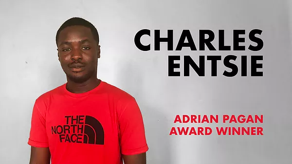 Adrian Pagan Award Winner 2019 - Charles Entsie - Press Release