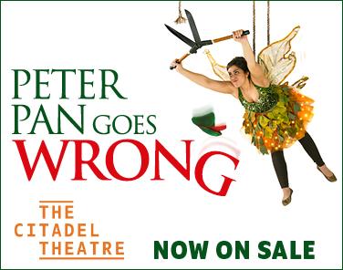 Peter Pan Goes Wrong at the Citadel Theatre, Canada