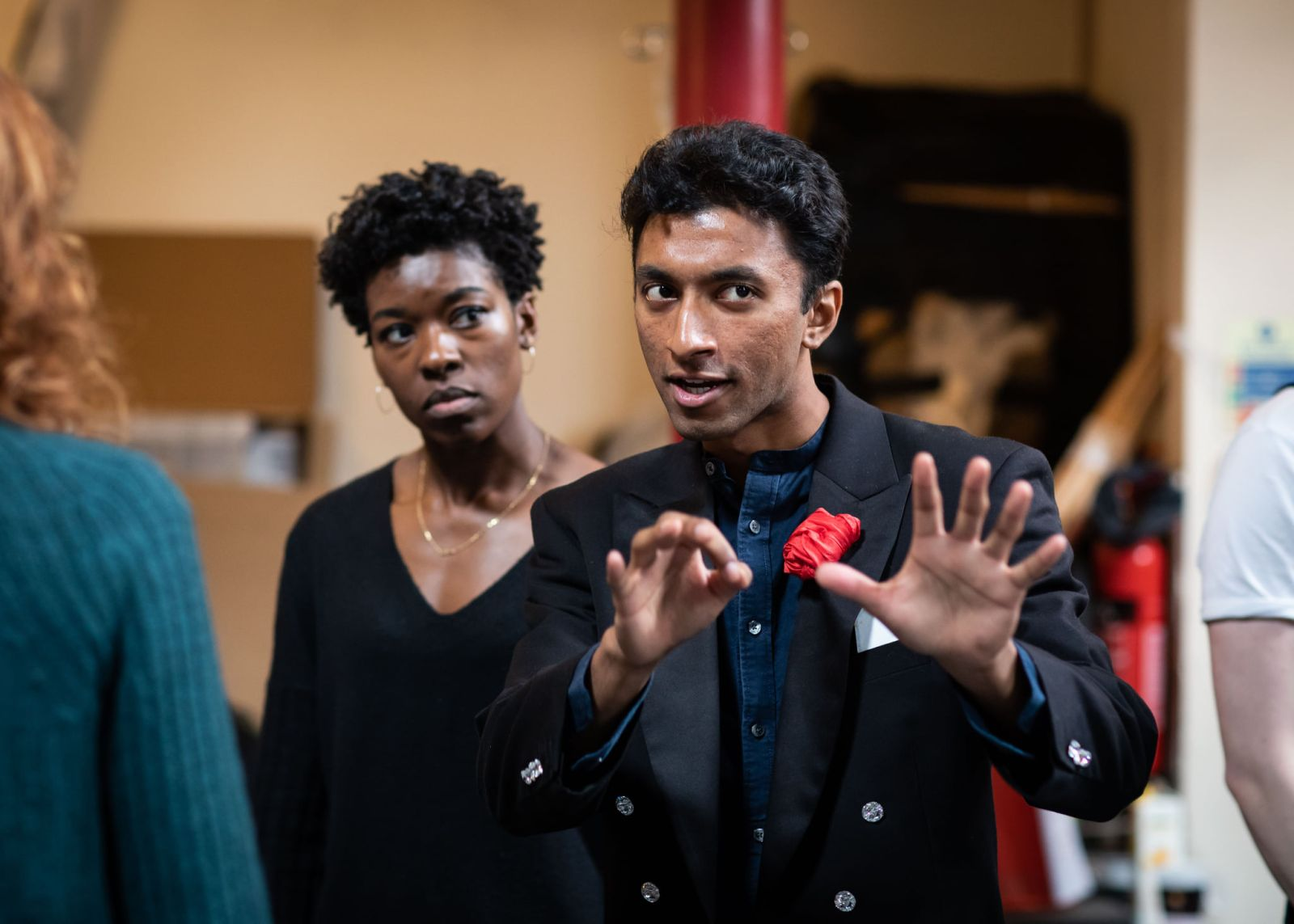 First Look: MAGIC GOES WRONG Rehearsal Photos Revealed