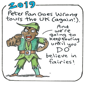 History Mischief: 2019 (Peter Pan Goes Wrong)