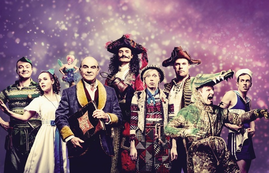 © Peter Pan Goes Wrong 2016 BBC One Christmas Special. Photography by Idil Sukan