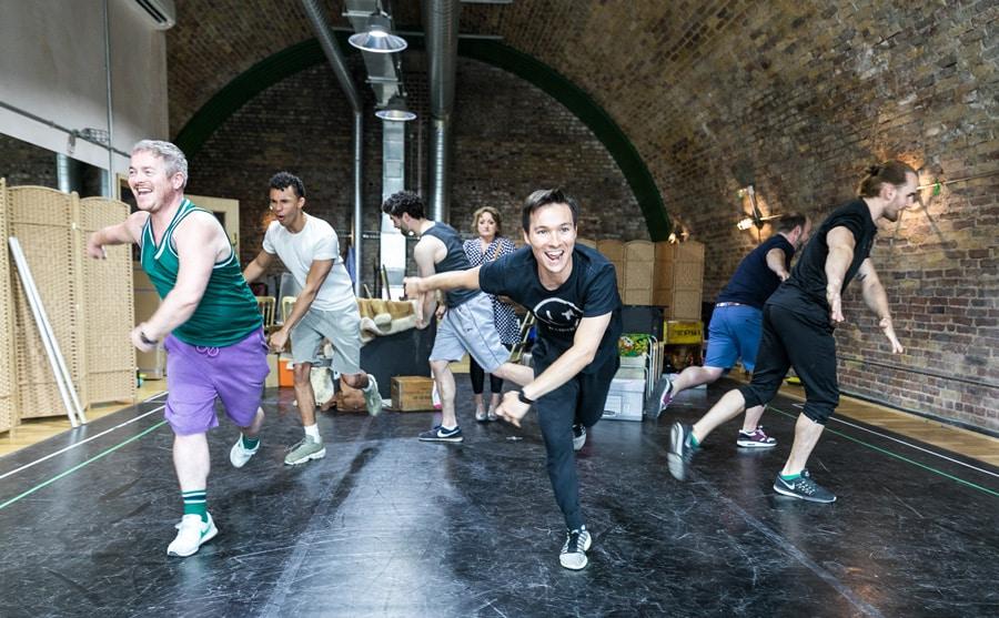 Ben Redfern - The Rink rehearsals 2