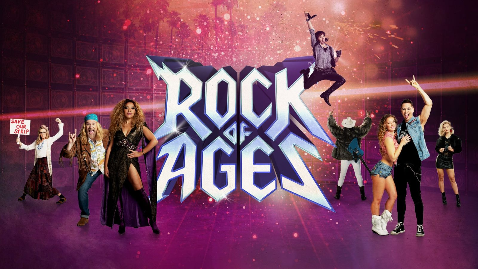 ROCK OF AGES with Ross Dawes and Andy McCarthy