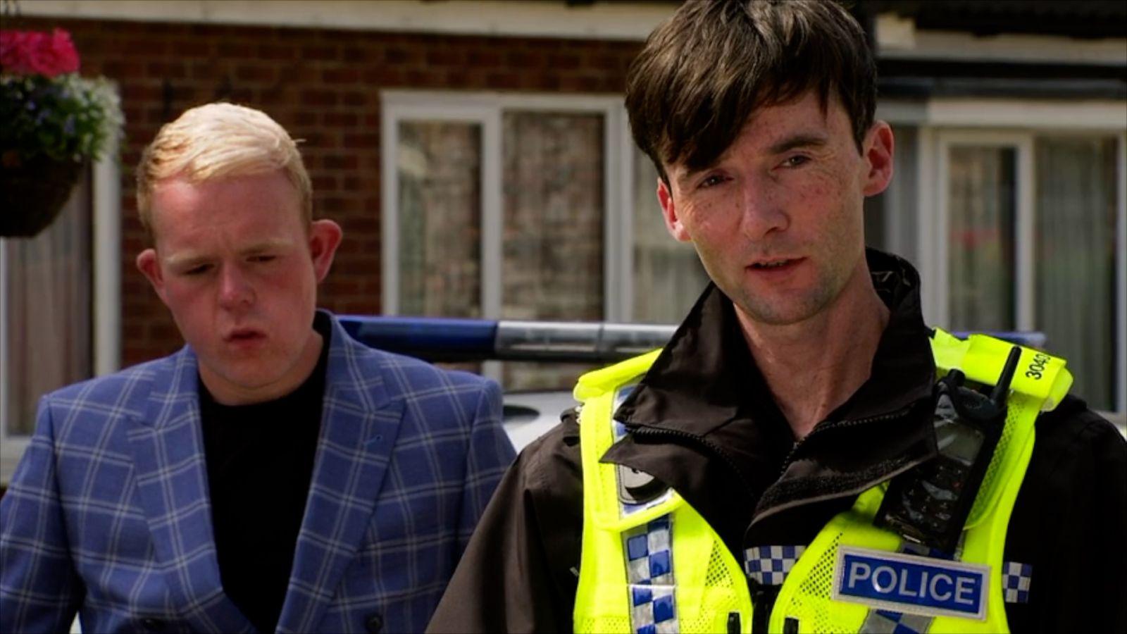 CORONATION STREET (ITV) - PC Clements