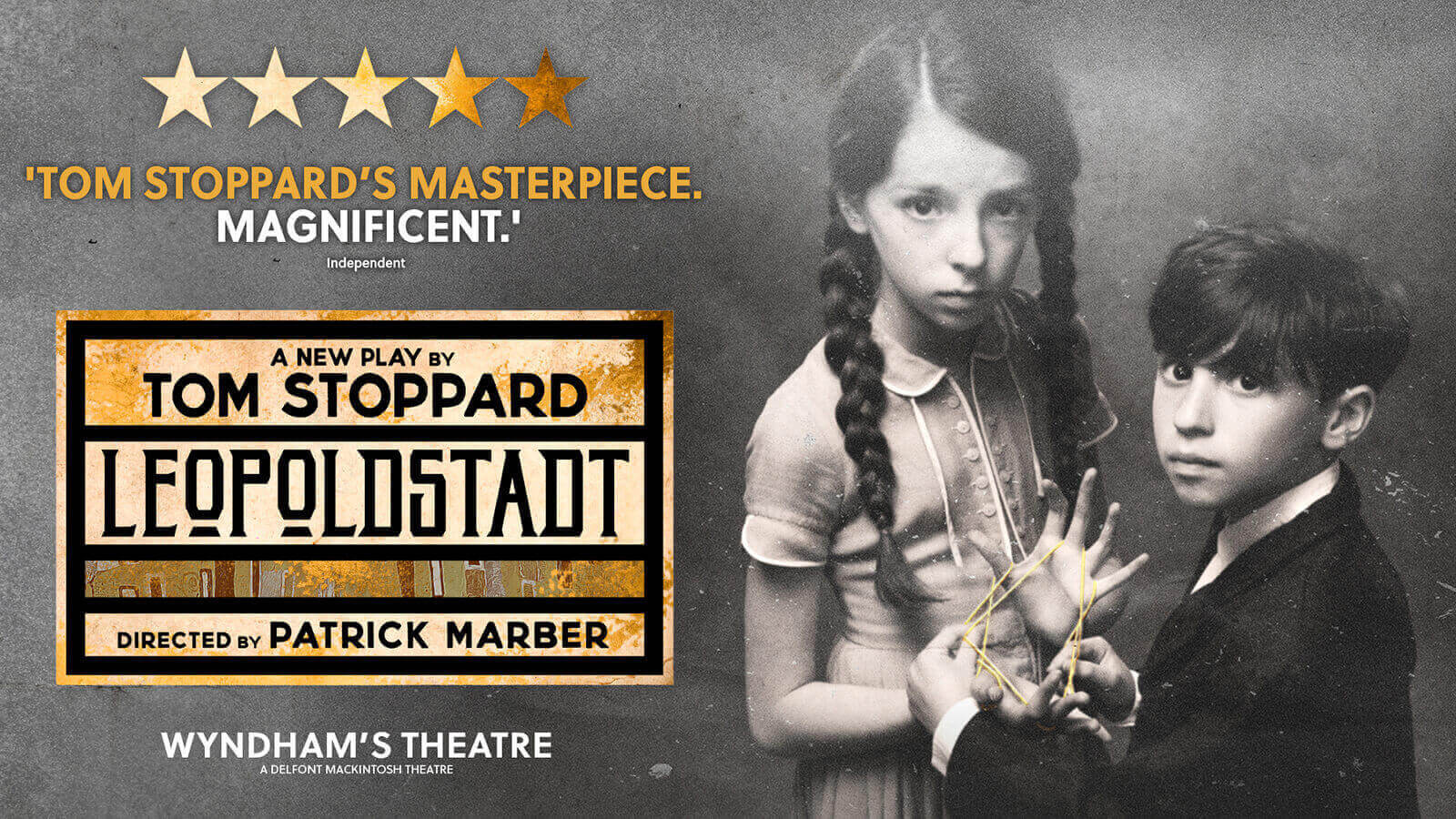West End production of LEOPOLDSTADT by Tom Stoppard with Natalie Law and Cara Ballingall