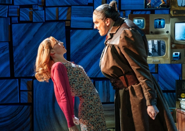 Carly Thoms as Miss Honey in West End's MATILDA