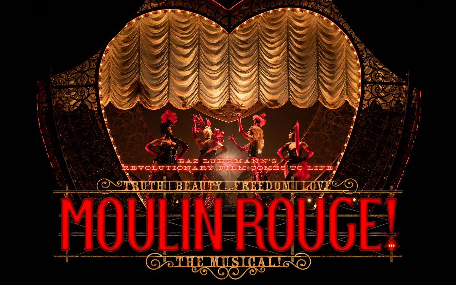MOULIN ROUGE! THE MUSICAL with Tanisha Spring