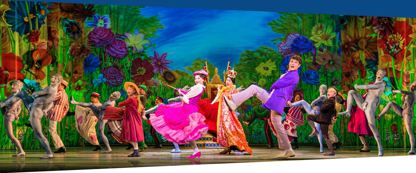 Ben Redfern in MARY POPPINS in the West End