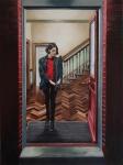 Woman in a Hallway