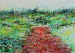 Poppy Field (after Monet)