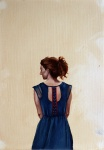 Study (Blue Dress)