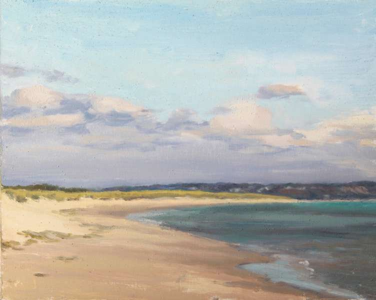 Middle Beach, Studland Bay by Lewis Rosemary (2019) | New