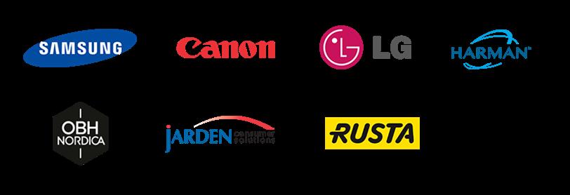 Kunden aus dem Bereich Consumer Electronics