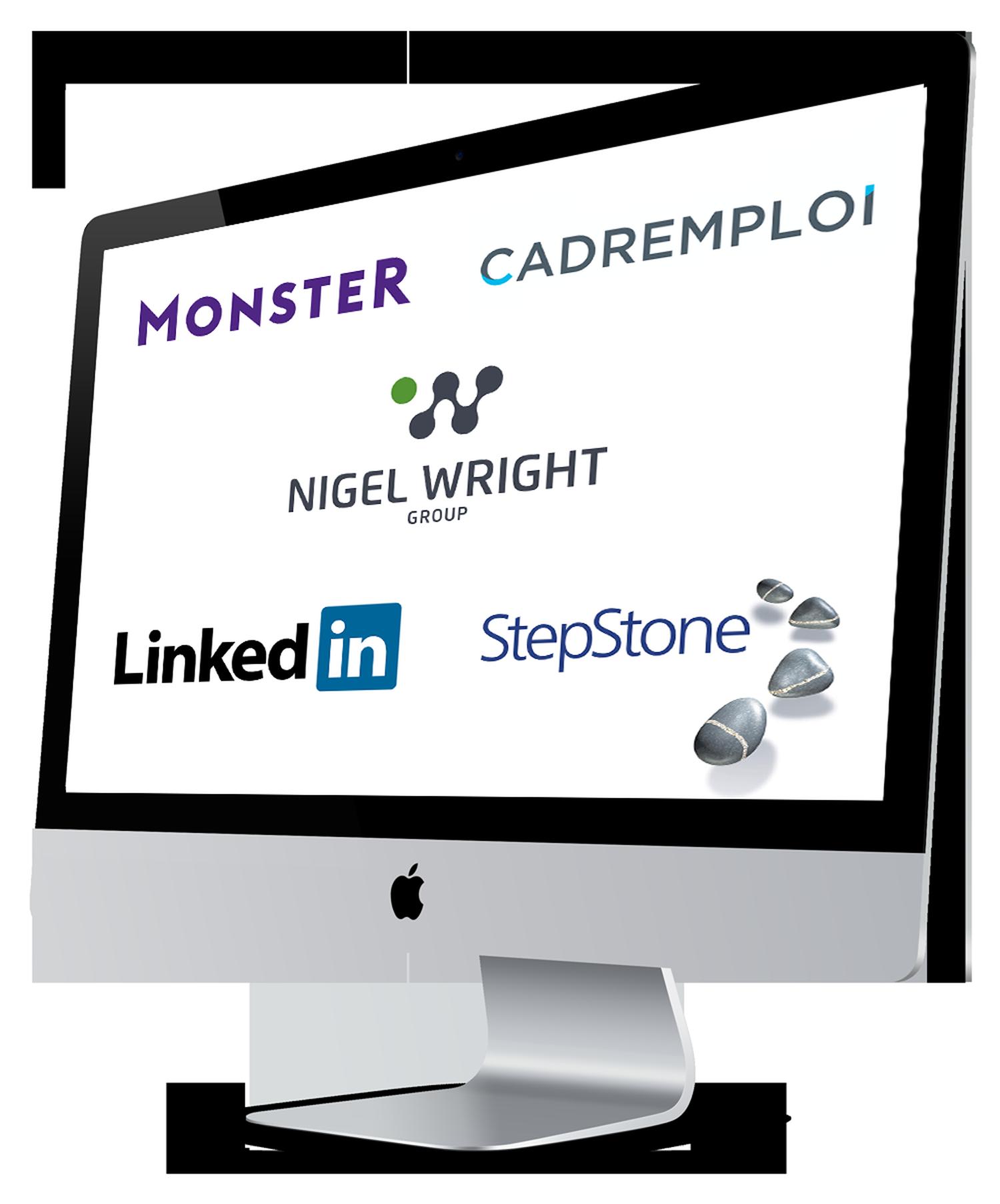 Markengebundene Online-Stellenanzeigen