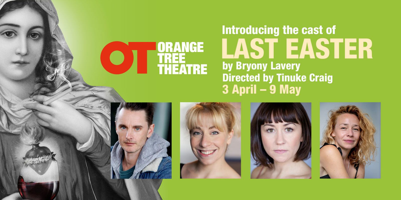 Cast announced for LAST EASTER by Bryony Lavery