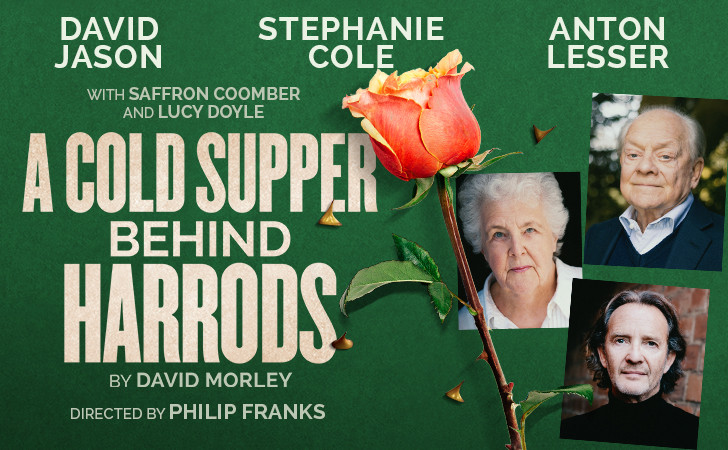 A Cold Supper Behind Harrods - live streaming Friday 11 June at 7.30pm (BST)