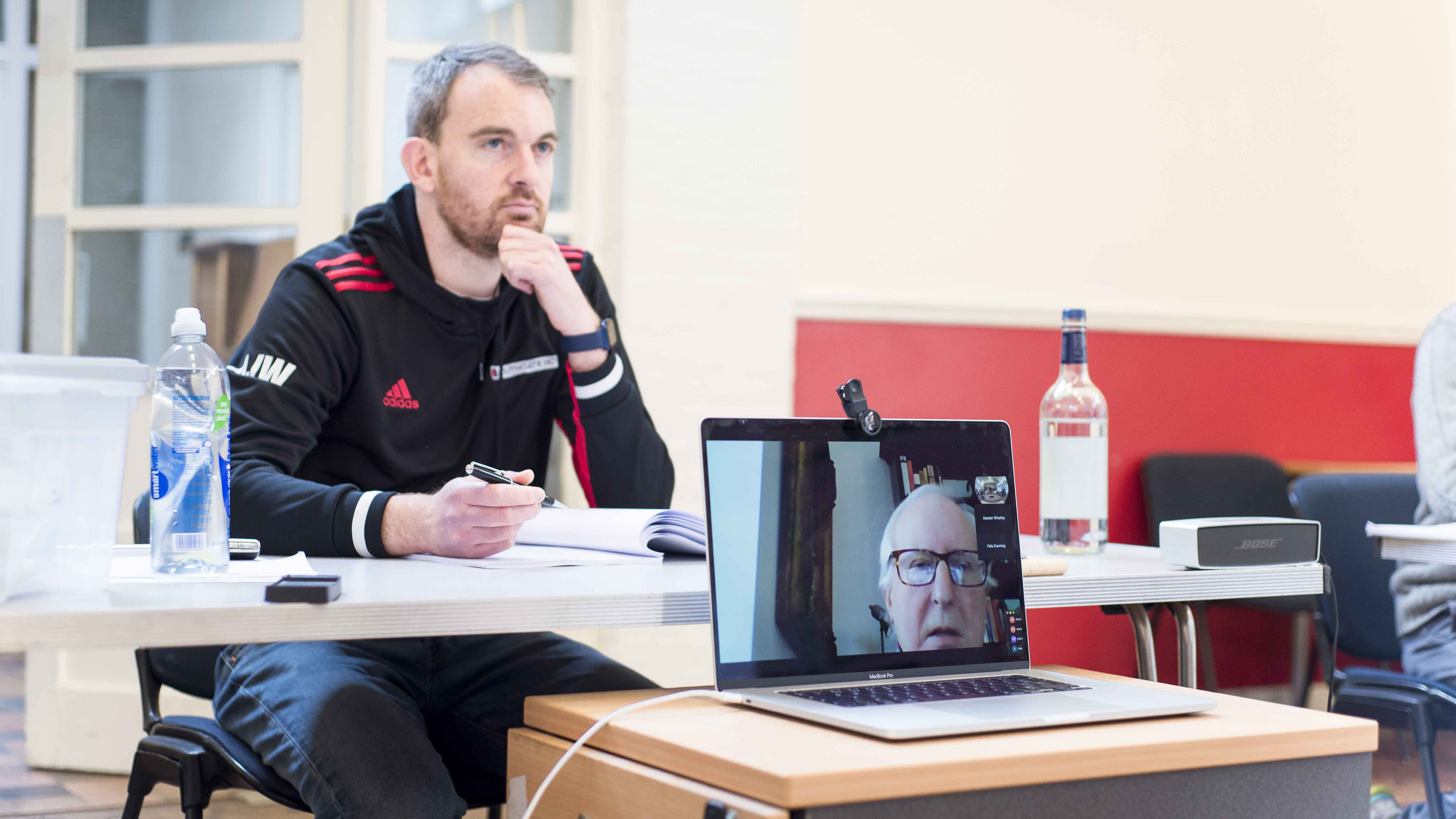 In Rehearsals - A Splinter of Ice - Blog 1