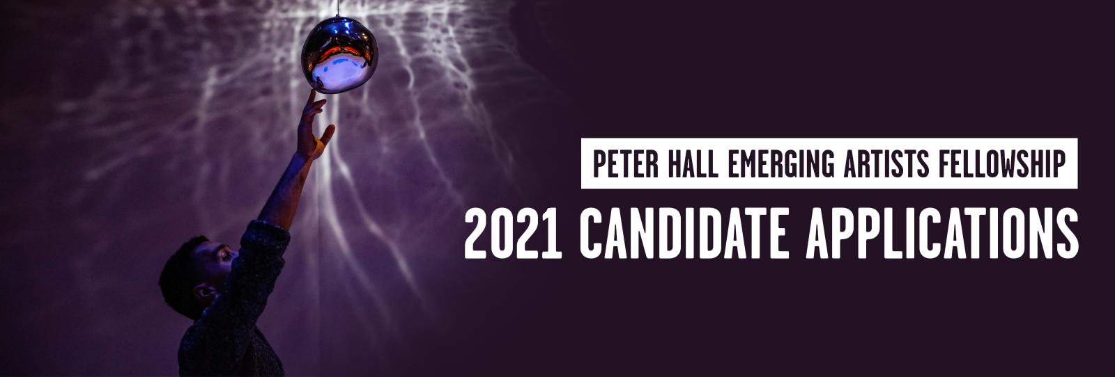 Peter Hall Emerging Artists Fellowship- 2021 Candidate Applications