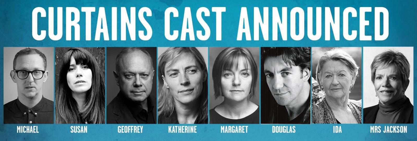 Curtains Full Cast Announced