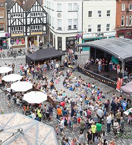 Live at Kingston Marketplace