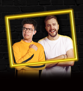 Live at the Rose - with Phil Wang & Iain Stirling (postponed from Sun 22 Nov)