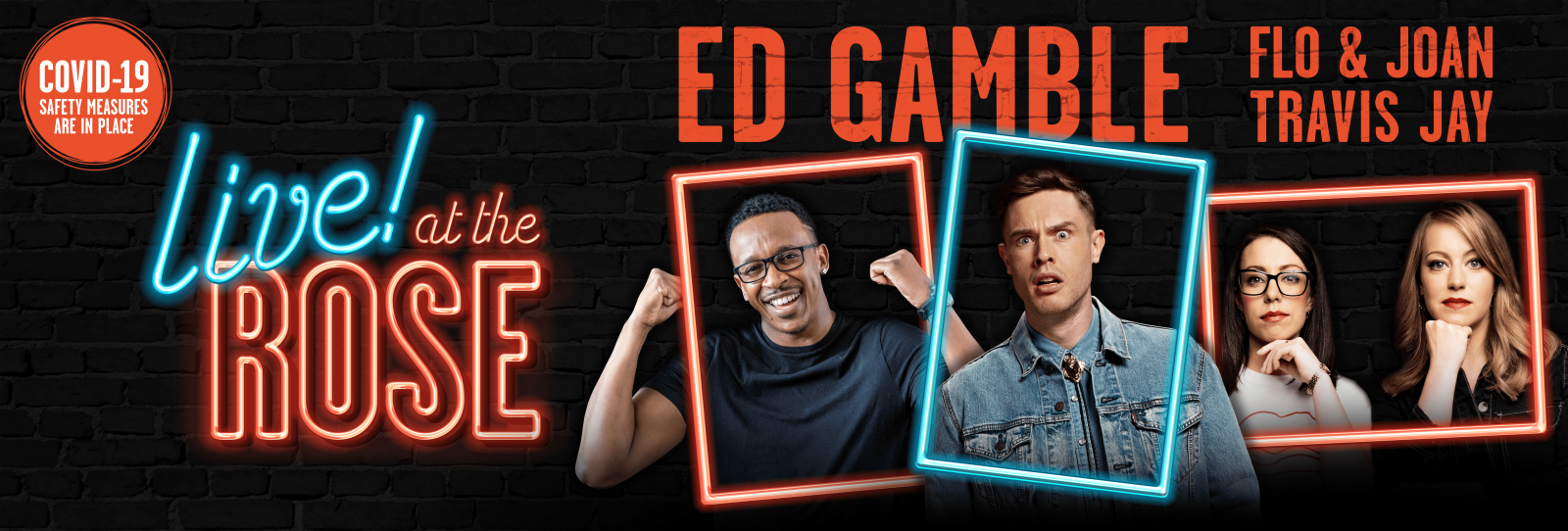 Live at the Rose with Ed Gamble