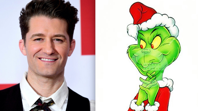 NBC sets Matthew Morrison in Dr Seuss' The Grinch Musical