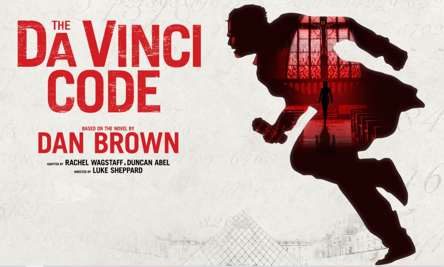 World premiere tour of The Da Vinci Code stage adaptation in 2021