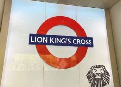 The Lion King x Transport for London: Lion King's Cross