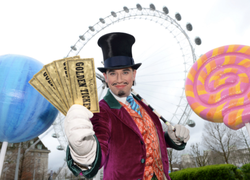 Charlie and the Chocolate Factory x The London Eye: Immersive Southbank experience
