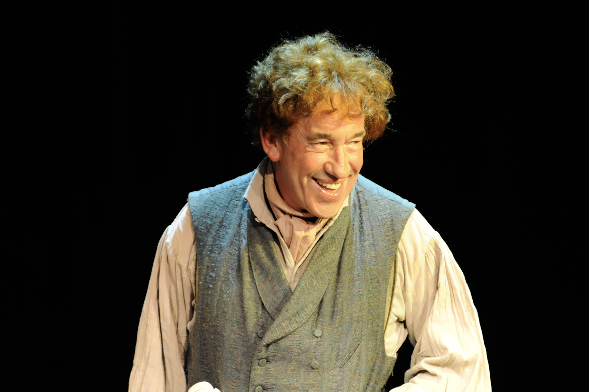 Simon Callow in Dr Marigold and Mr Chops