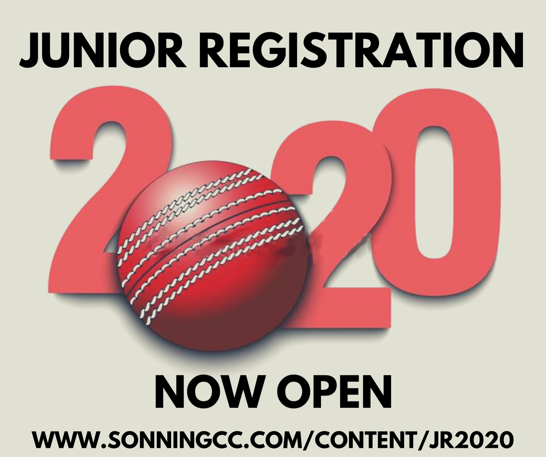 Junior Registration Now Open for 2020 Season