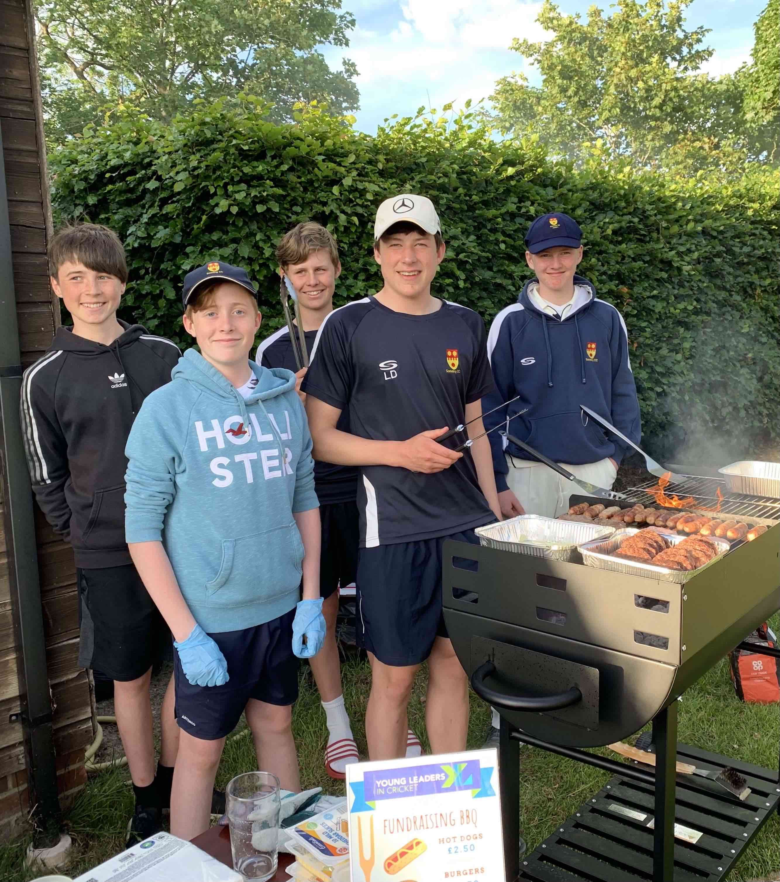 Sonning CC Young Leaders raise £288 for Charity