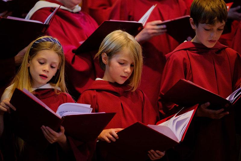 Junior Choir Members