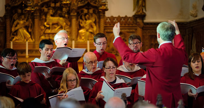 St Olave's Church Choir in 2018