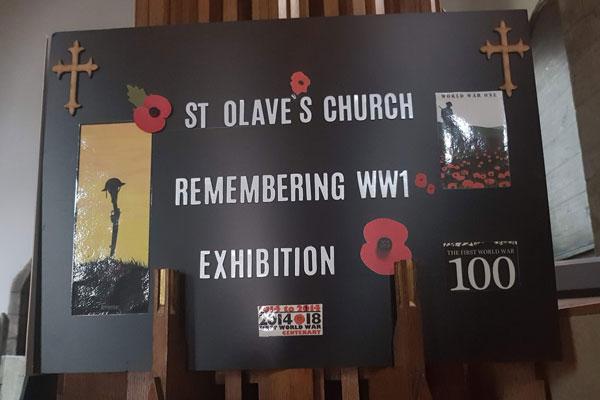 World War 1 Exhibition