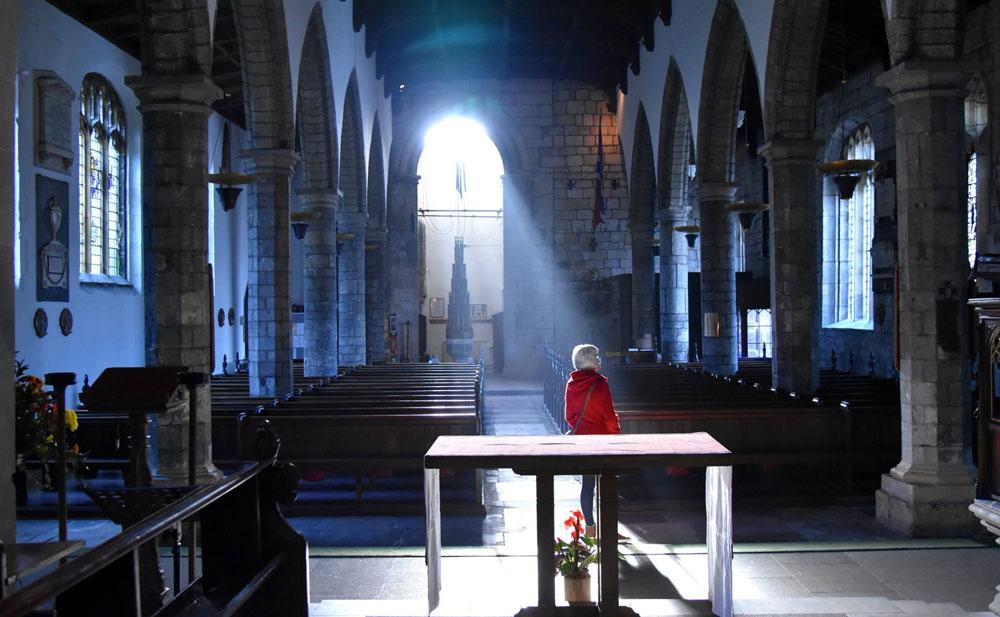 The interior of St Olave's Church (photo: Dick Sanderman)
