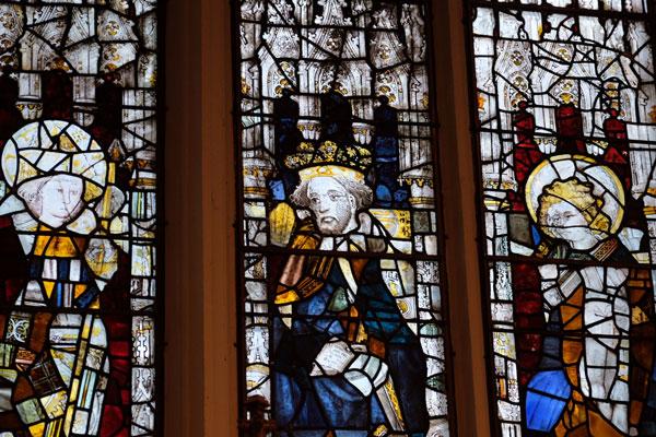 East window detail