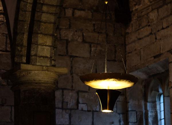 The distinctive church lights