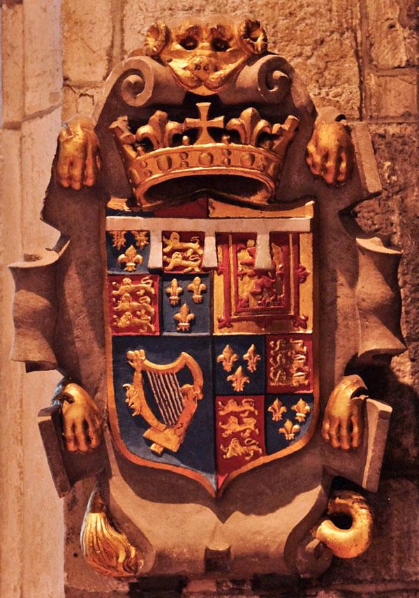 Prince Henry Stuart coat of arms