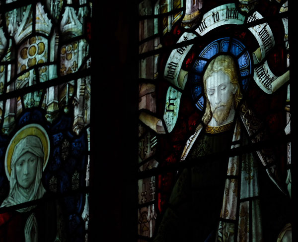 Detail of Tabitha & Christus Consolator
