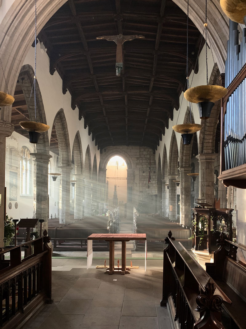 st olave's church interior
