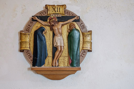 Station of the Cross XII