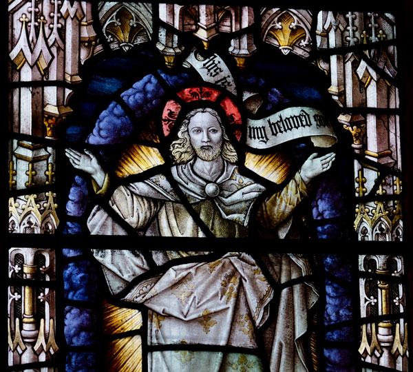 East window detail, Chapel of the Transfiguration