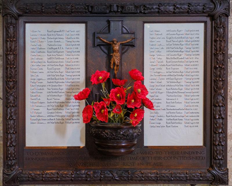 The World War 1 Memorial