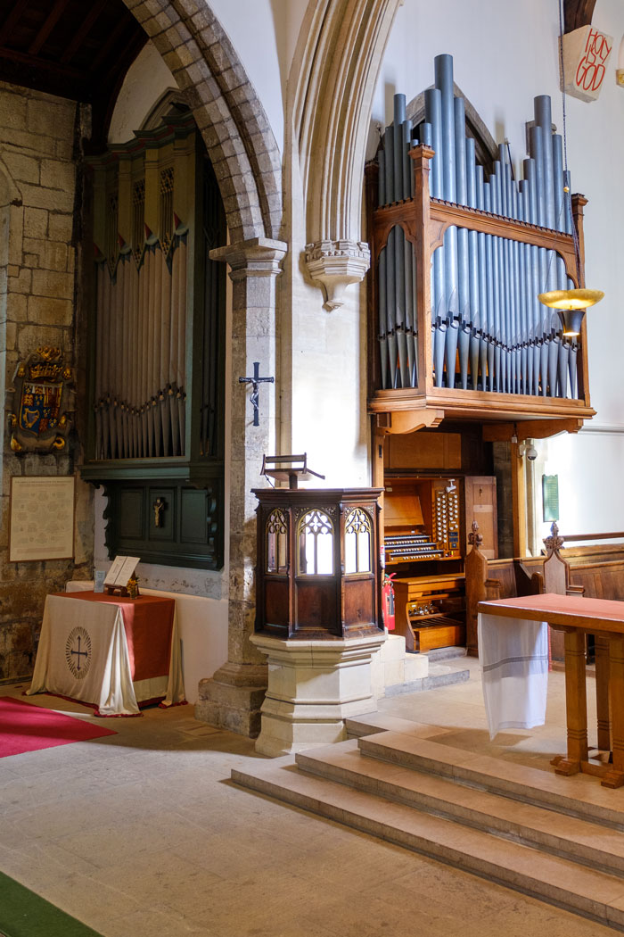 St Olave's Church Organ